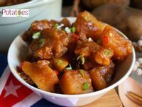 [美國馬鈴薯]香辣蔥燒馬鈴薯燉小排