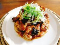 照燒油蔥雞一超簡單,消夜 下酒 便當菜