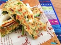 芹菜葉煎餅