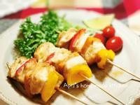 低卡雞肉串燒 簡易自製烤肉醬
