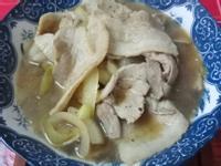 日式洋蔥炒肉片