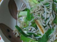 ㄚ曼達的廚房~蔥炒吻仔魚~