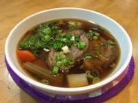 紅燒牛肉湯(附「滷牛腱」作法)
