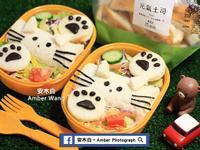 貓咪捲野餐土司