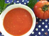 自製調味料─水煮蕃茄泥