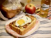 《瘋野餐》來顆太陽蛋!火腿洋芋烤蛋吐司