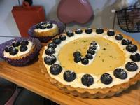 寶貝的生日藍莓乳酪派(配方可用杯子6)