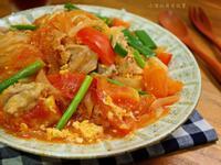 番茄豬肉冬粉