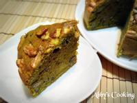 抹茶紅豆核桃磅蛋糕