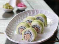 小黃瓜鮪魚醋壽司-一口壽司