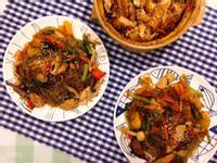 韓式家常雜菜炒冬粉 잡채