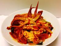 오징어볶음 韓式辣炒魷魚