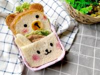 熊熊與兔兔口袋三明治