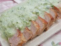 香煎鹽麴豬排佐小黃瓜優格醬