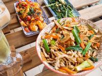 中式家常快炒肉絲炒豆乾