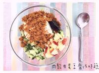 無違和料理|肉鬆皮蛋豆腐佐時蔬