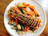 脆皮豬五花一超簡單 歐風料理