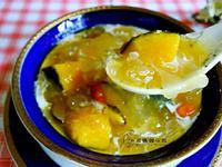 南瓜銀耳湯(一鍋搞定料理)
