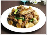 [梅子菇菇燒雞]簡易家常菜