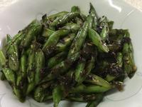 橄欖菜炒四季豆~全素