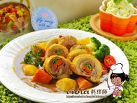 咖哩雞肉蔬食捲【咖哩女王】