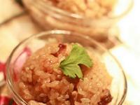 【東煮】難得有乾魷魚油飯 Squid sticky rice