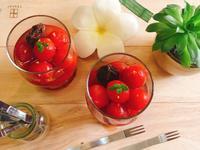 蜜漬桂花釀西紅柿