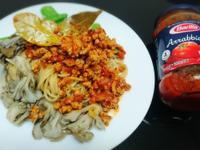 茄汁肉醬拌義大利麵【百味來私房美味】