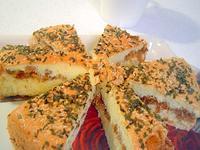 鬆軟肉鬆鹹蛋糕(烤箱-減糖減油-戚風)