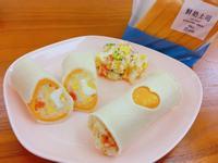 夏日微酸馬鈴薯優格沙拉土司捲