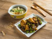 扁鱈二吃──鹹香扁鱈、味噌扁鱈湯