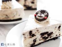 【影片】超簡易熊本熊免烤Oreo乳酪蛋糕