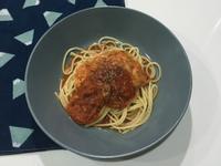 洋蔥番茄起司義大利麵