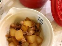 【日式副菜】肉末大根燒 (露營OK)