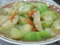 絲瓜杏鮑菇-素食