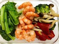 お弁当-170524-乾煎蝦仁
