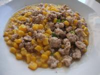 【小雨食堂】玉米炒肉末