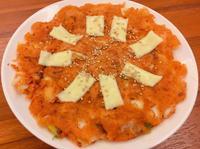 韓式泡菜海鮮Q煎餅