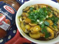 5分鐘上菜─香草紅醬蘑菇─百味來私房美味
