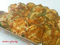 櫛瓜香草煎蛋 簡易。家常菜。晚餐
