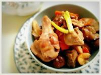 飄香地瓜栗子香菇燒雞
