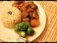 柱候蘿蔔牛肉燉Beef Brisket in Chu Hou Paste