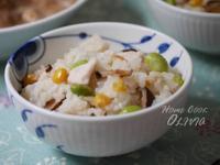 小廚娘❤毛豆玉米日式炊飯#電鍋