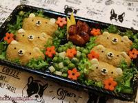 小熊造型便當&療癒餐盒
