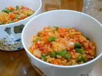 簡單版番茄蔬菜燉飯