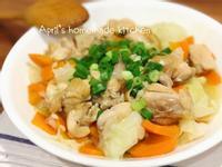 高麗菜悶雞 清甜湯汁超爽口(電鍋菜)