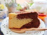 雙色戚風蛋糕『低糖,無泡打粉配方』