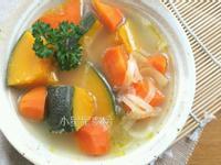 家常南瓜蔬菜湯