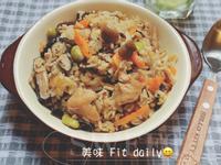 雞肉菇菇炊飯