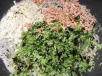 豆腐奶香鮮蔬鮭魚燉飯(寶寶燉飯)